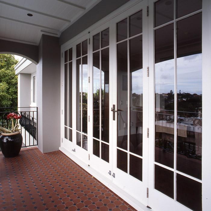 Papakura Joinery Timber Bi-folding and sliding doors